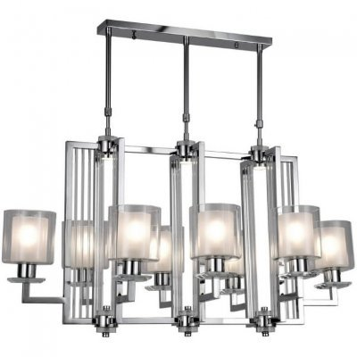 Подвесная люстра Lumina Deco Manhattan LDP 8012-8P CHR