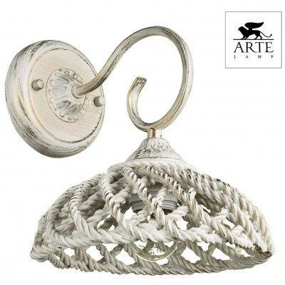 Бра Arte Lamp TWISTED A5358AP-1WG