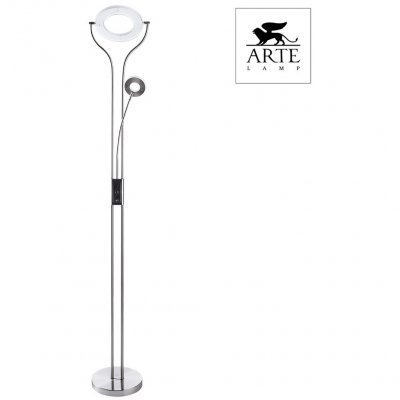 Торшер Arte Lamp DUETTO LED A5904PN-2SS
