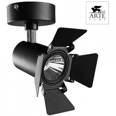 Спот Arte Lamp TRACK LIGHTS A6709AP-1BK